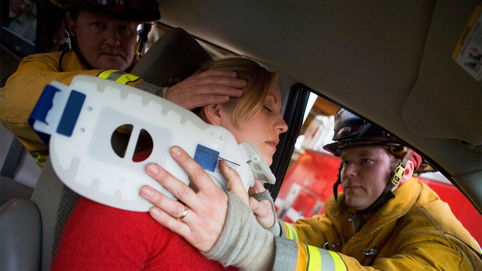 Accidente de tránsito con lesionados